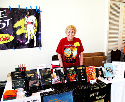 My author's table at Necronomicon