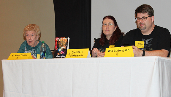 Author's panel at Necronomicon